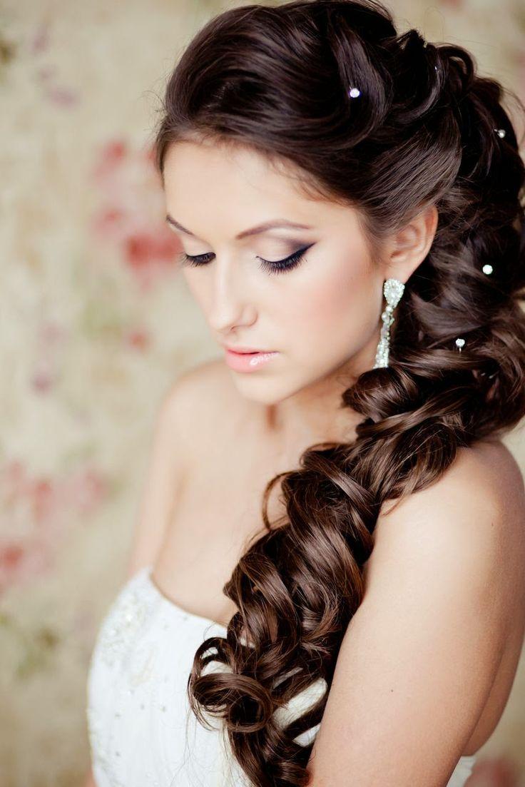 Tout pour mon mariage: Idées de coiffures de mariage pour cheveux bruns