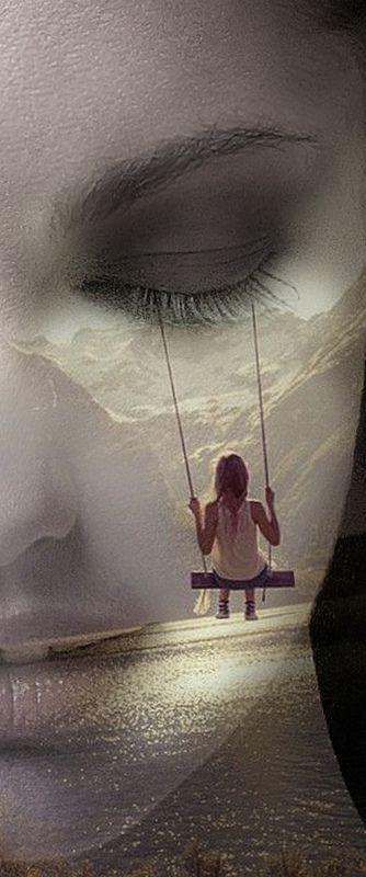 girl on the swing *** #DoubleExposure, @TaniaAmrein
