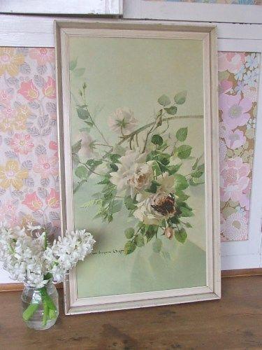 Vernon Ward 'Decor for a Rose' Floral Print