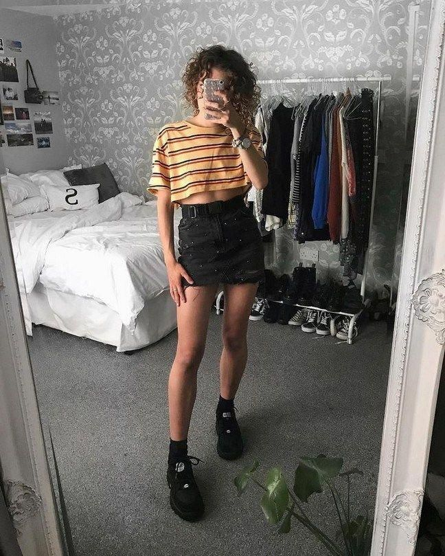 81 Cool and Edgy Grunge Outfits– Hairstel Fashion #WomensFashionEdgy