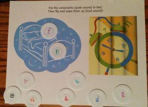 Distinguish between voiced & unvoiced consonants phonics game