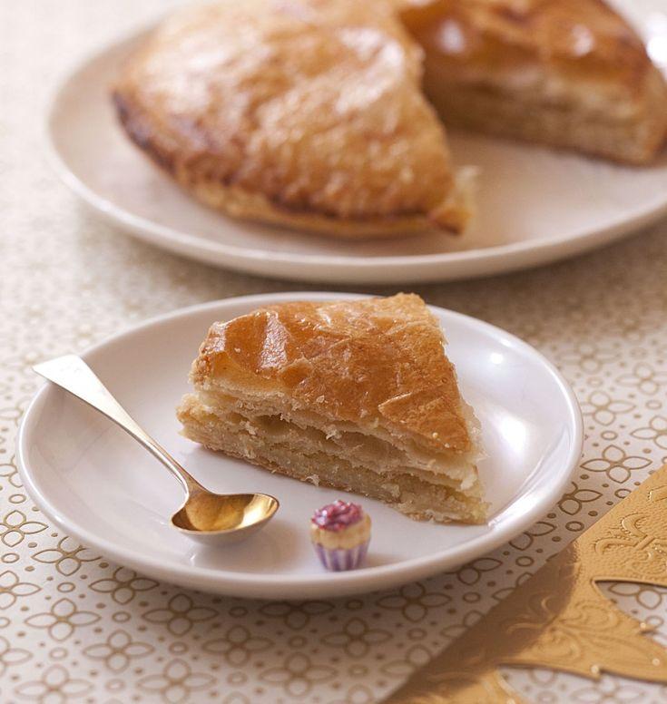 Galette des rois à la frangipane et à la vanille - pâte feuilletée maison - Recettes de cuisine Ôdélices