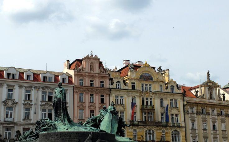 Centre ville de la capitale Tchèque : Praque