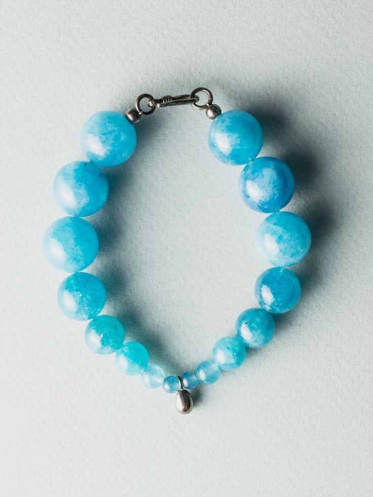 Blue Egg Bracelet by Carla Szabo #jewelry #design #bracelet
