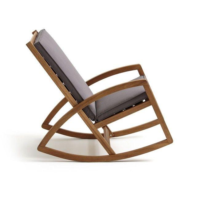 Rocking Chair De Jardin Ozenald - Taille : Taille Unique ...