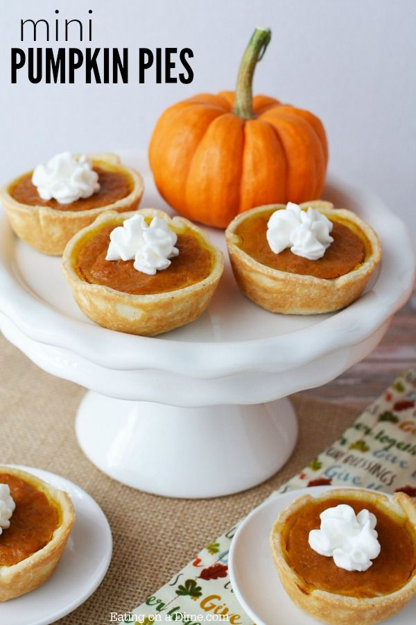 Try this easy pumpkin pie recipe that is delicious and simple to make. You will love this mini pumpkin pies recipe. Enjoy this simple pumpkin pie today.