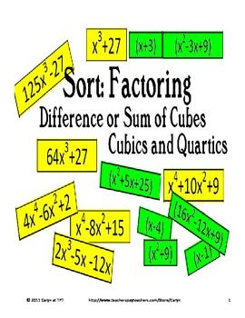 meet and up difference of cubes