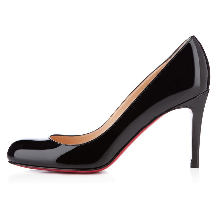 Christian Louboutin United Kingdom Official Online Boutique - SIMPLE PUMP  PATENT 85 Black Patent calfskin available online. Discover more Women Shoes  by ...