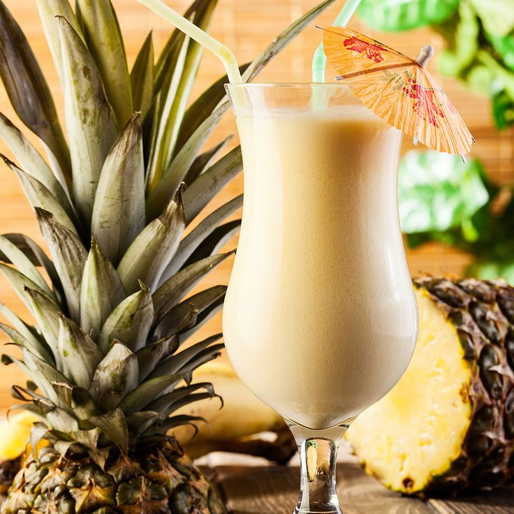 Creamy flavors of Amaretto combines with rum, coconut milk and pineapple juice to create this sweet amaretto colada drink. Get the recipe from The Cocktail Project.