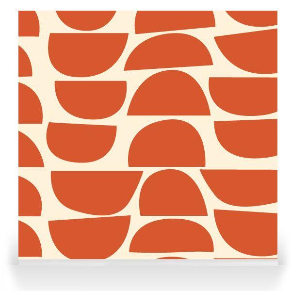 Skinny laMinx - Robin Sprong Surface Designer. Bowls Persimmon.