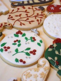 クリスマス☆デザインクッキー講座 : 青い空の見える場所 ~Le ciel bleu~