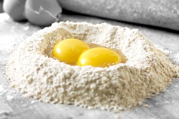 L'eccellenza della #pasta all'uovo #LucianaMosconi comincia dall'alta qualità delle materie prime impiegate: solo una grande semola e #uova fresche di categoria A.