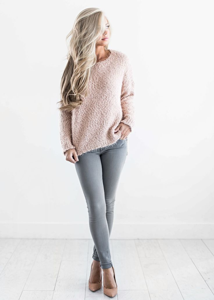 sweaters, blush sweater, fall fashion, womens fashion, shop jessakae