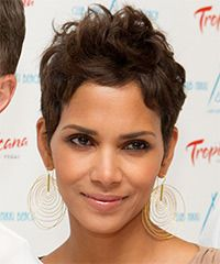 love all of Halle's short pixie cuts