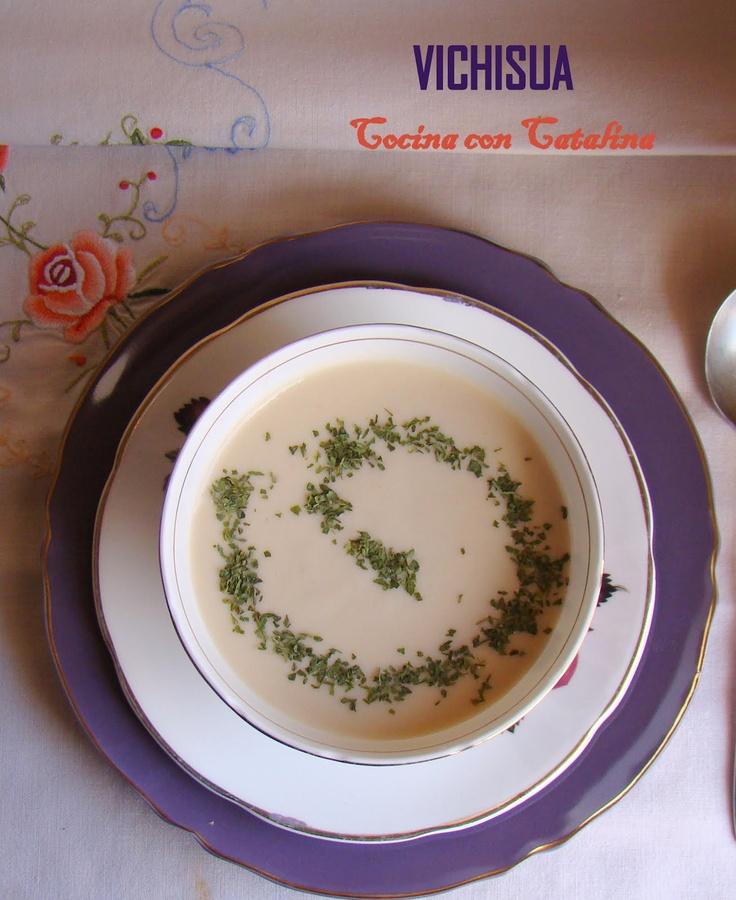 COCINA CON CATALINA: Vichisua (Vichyssoisse) , receta de Mario Segura Abad