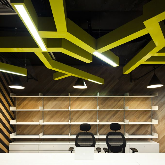 Office Interior Design:  Saatchi & Saatchi Corporate. Amazing.