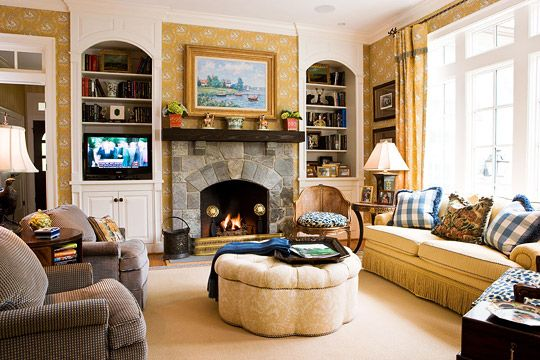 Liveable! I would rather have large screen TV above mantle