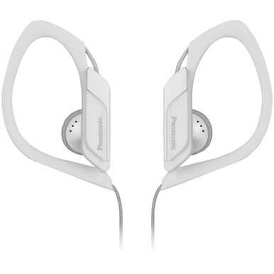 PANASONIC RP-HS34-W Sweat-Resistant Sports Earbuds (White)