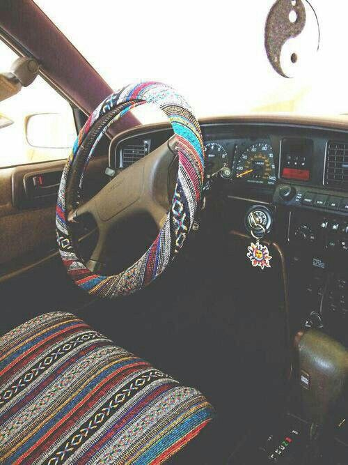 Boho car interior                                                                                                                                                                                 More