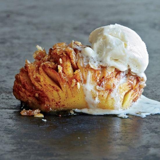 RECIPE: Hasselback Apples via Cooking Light