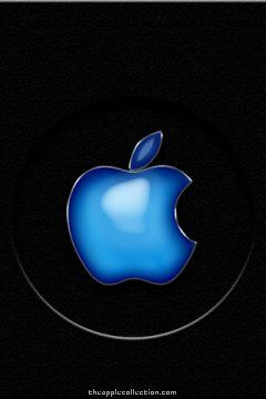 Apple iPhone Aqua Logo Style Wallpaper. Download this free background for your iPhone or iPod. 320×480 pixels.,  Aqua Logo –  Aqua Logos – Aqua –  aqu…