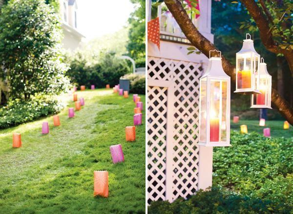 Summer Backyard Party Ideas :  , Summer Parties, Backyard Parties, Parties Lanterns, Parties Ideas