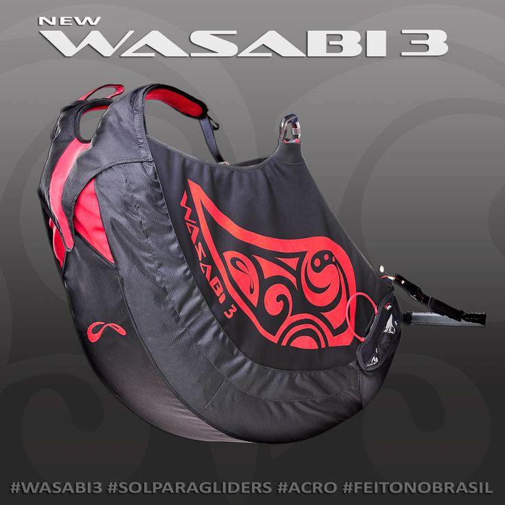 New Wasabi 3 - Selete para quem gosta de Acrobacias! #solparagliders #vocepodevoar #youcanfly #wasabi3 #acrobacias