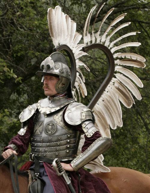 -    - Polish Winged Hussar Armor! Rare!