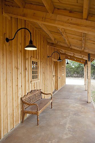 Barn Lighting - Variety of options available to fit your personal style.  www.sandcreekpostandbeam.com https://www.facebook.com/SandCreekPostandBeam