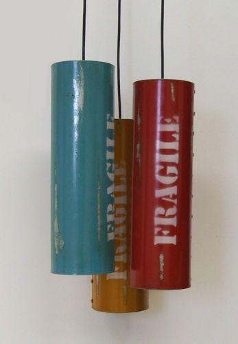 Hängelampe Dosenlampe 3er S Reclaim-Reinvent-Lampe Industrie-Stil Nature & Style | eBay