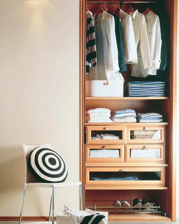 78 mejores ideas sobre como organizar un closet en - Como distribuir un armario ...