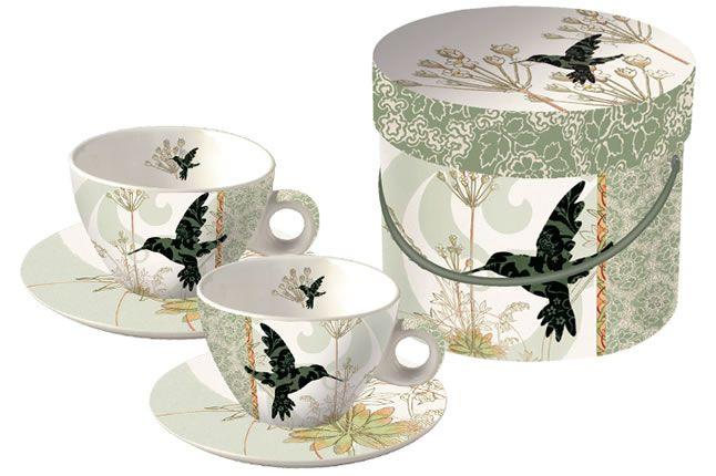 www.gifthaus.co.za Colibri Cappuccino Cups