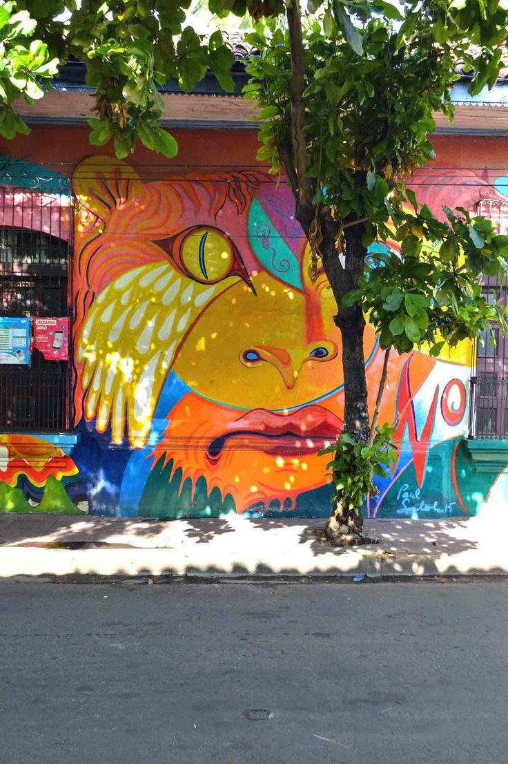 Street art in León, Nicaragua | heneedsfood.com