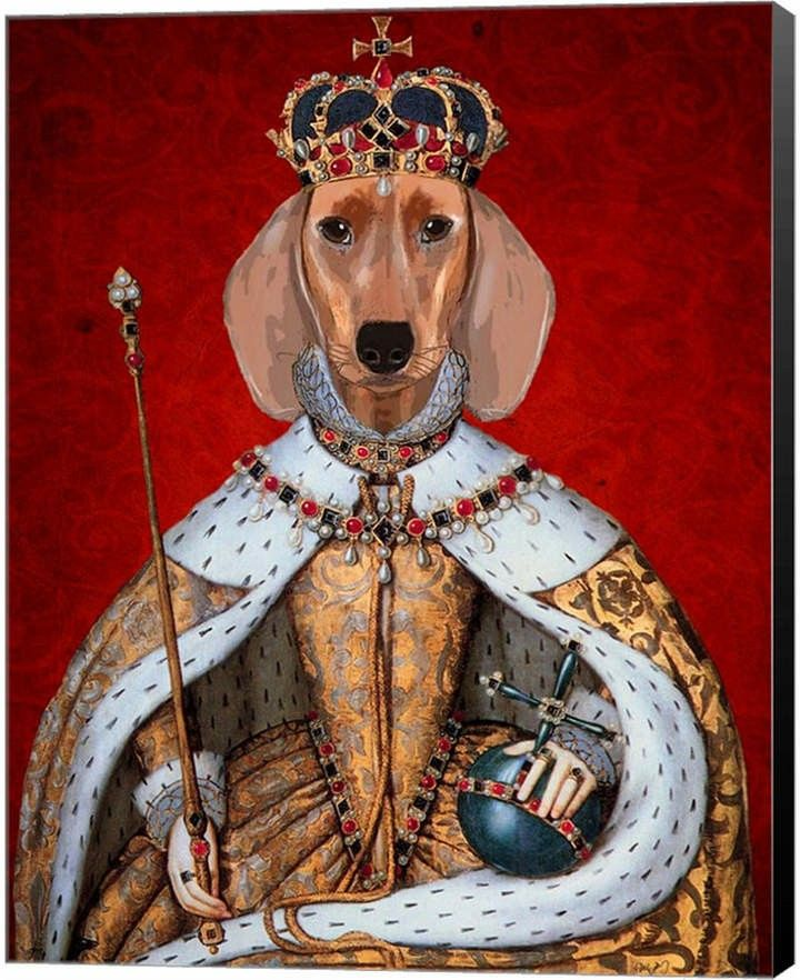 Pin By The Next Sausage Crew On Weens Dachshund Art Queen Art