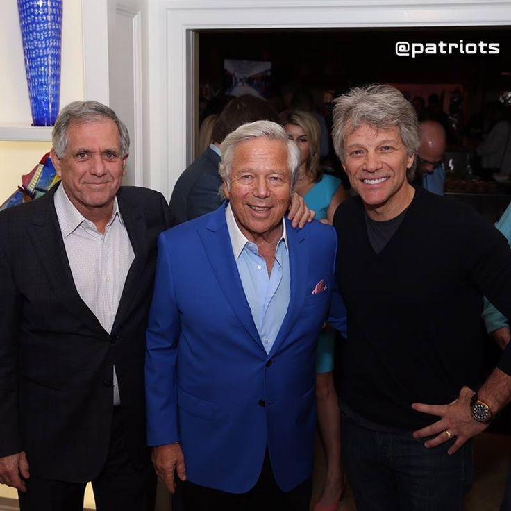 Robert Kraft&Jon Bon Jovi