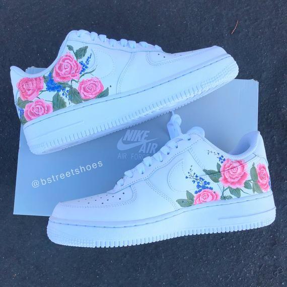 Pink Wedding Rose Air Force 1S nel 2020 | Scarpe