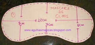 Toca da Coruja Artesanato em geral: Mascaras para dormir..imagens retiradas da net...