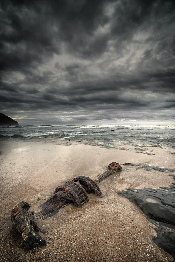 Shipwreck by Aaron Toulmin, via 500pxTaken at Moonlight Head in Victoria Australia. This stretch of the coast is renowned for its shipwrecks, with the ship, Fiji wrecked just off the head in 1891 and the Marie Gabrielle wrecked on 25 November 1869.