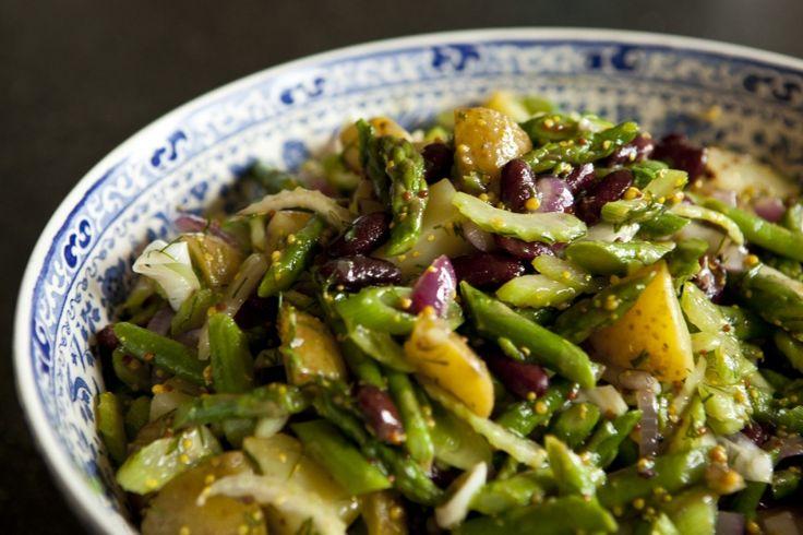Kitchenette - Bramborový salát s chřestem