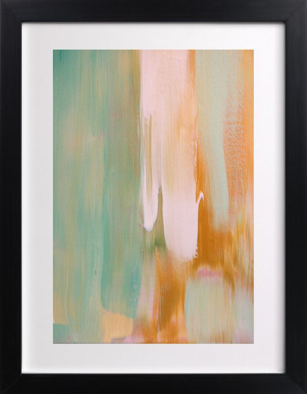 rusty patina painting limited edition art print by artsy canvas girl designs
