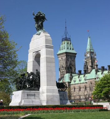 ONTARIO | National War Memorial, Ottawa, Canada
