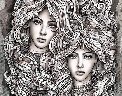 Gothic Coloring Pages For Adults : Best colouring pages fantasy images coloring