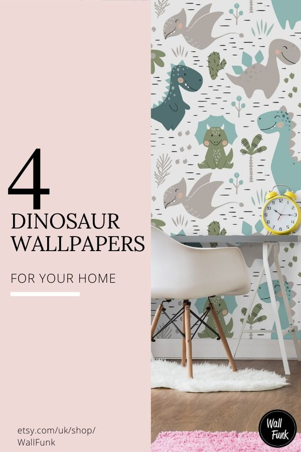 Our Dinosaur Wallpaper Designs Are Some Of Our Most Popular Loved By Children And Adults Alike Check In 2020 With Images Kids Room Wall Decor Dinosaur Wallpaper Playroom Design