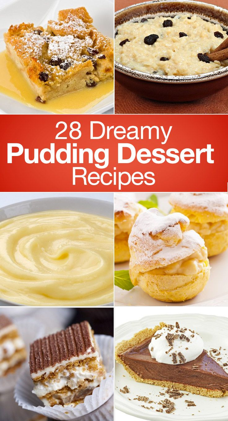 28 Dreamy Pudding Dessert Recipes – The Dish by KitchMe