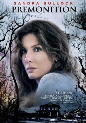 Premonition (2007) Housewife Linda Hanson (Sandra Bullock) is devastated when her husband (Julian McMahon) dies suddenly in a car crash. But when he reappears the next day as if nothing had ever happened, she realizes the tragedy might have just been a premonition. The question now is, can Linda prevent the horrible event from happening again, or is she powerless to redirect fate? Amber Valletta and Nia Long also star.