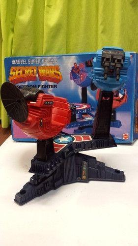 Marvel Secret Wars Freedom Fighter Playset