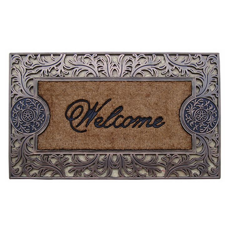 First Impression Natural Outdoor Brush Door Mat - A1HOME200031