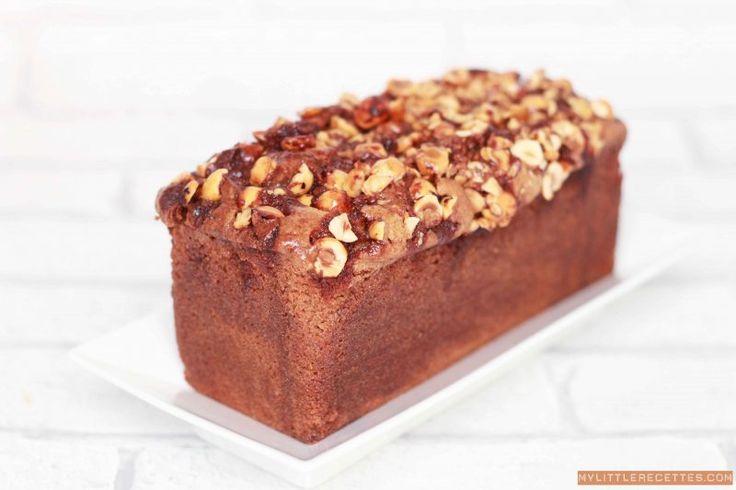 Cake praliné noisette façon Laurent Jeannin