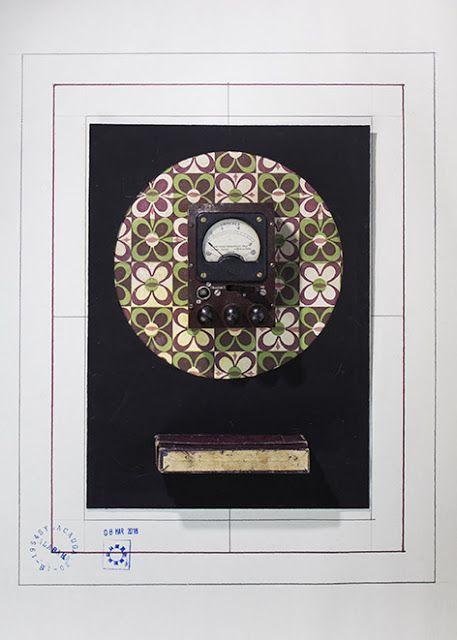 HODGES - Maurizio Di Feo -1954/2016 - Stampa lambda - #mauriziodifeo #artistaitaliano #milanoarte #art #contemporaryart #mixedmediapainting #assemblageart