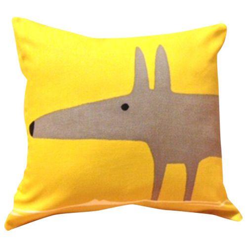 Scion Mr Fox Yellow Cushion Cover 12'' in Home, Furniture & DIY, Home Decor, Cushions | eBay